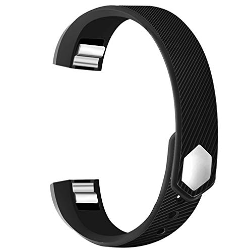 POY Compatible Bands Replacement for Fitbit Alta/Fitbit Alta HR, Adjustable Sport Wristbands for Women Men (Large)