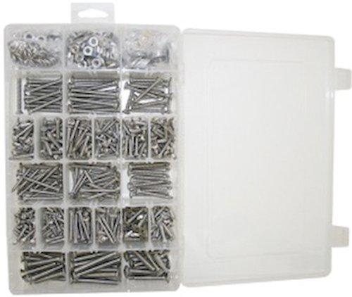 SeaSense 800 Piece Screw Assortment, Stainless Steel