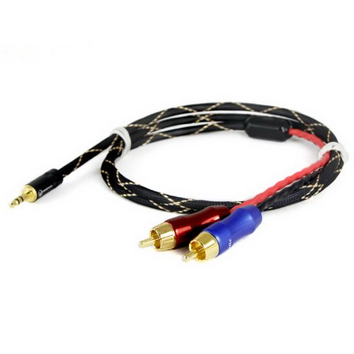 ZY ZY-020 HiFi Quality Cable 2RCA to 2RCA Male Cables 2-Channel Signal
