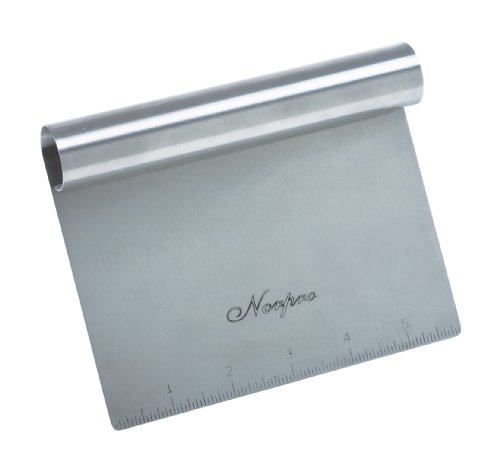 Norpro Stainless Steel Scraper/Chopper (Long Bench Kitchen)