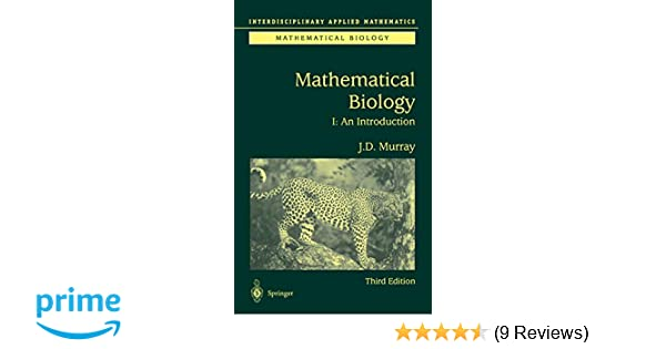 Mathematical Biology Murray Pdf