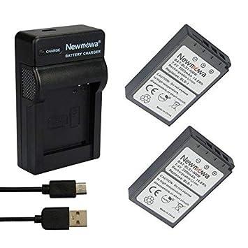 Newmowa BLS-5 Batería (2-Pack) y Kit Cargador Micro USB ...