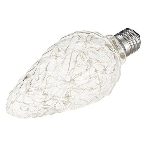 Wide Pinecone 3 Light (LEDMOMO Edison Light Bulb RGB Flashing LED Light Bulbs E27 3w LED Lamp String Lights for Bar Cafes Bathroom Bedroom Living Room (Pine Cone))