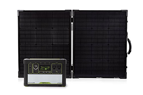 Goal Zero Yeti 400 Lithium Solar Generator Kit with Boulder
