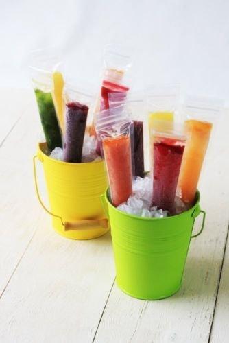 [ZIPZICLE - (36 Pack) Zip-Top Ice Pop Pouch, New,] (Pop Art Inspired Costumes)