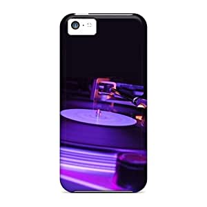 Special Design Back Turntable Phone Cases Covers For Iphone 5c