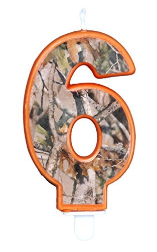 Camo Birthday 3 Inch Number