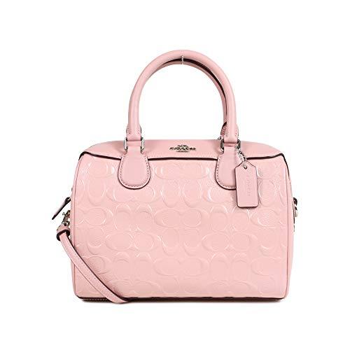 Coach Signature Patent Leather Mini Bennett F41343 - Signature Bag Patchwork Satchel