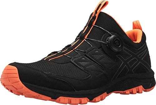 - ASICS Men's Gel-FujiRado Black/Carbon/Orange 7.5 D US