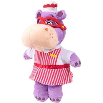 Disney Jr Doc Mcstuffins Hallie Hippo Bean Bag Plush Doll Children