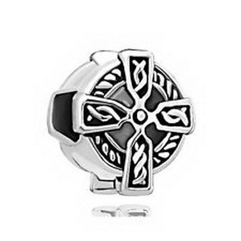 [Dan Smatree The Beads Pugster Charm Beads Irish Cross In stock Hard to find] (In Stock Hip Hop Costumes)