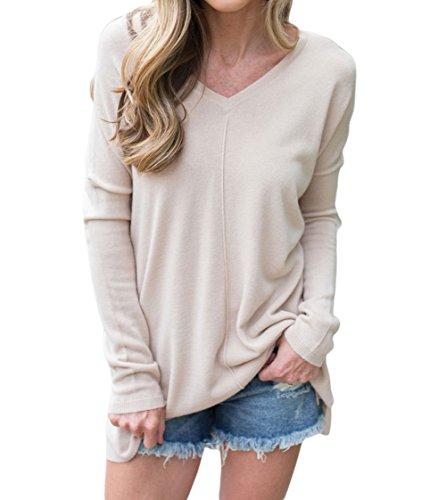 Belimely Women's Soft V Neck Sweater Fashion Cardigans - Uk Outlet Asos