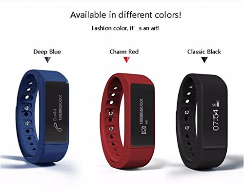 Sports-Bracelet-ELEGIANT-NEW-I5-Plus-Bluetooth-40-Sport-Smart-Watch-Bracelet-Wireless-Activity-Pedometer-Sleep-Monitor-Health-Fitness-Tracker-Activity-Wristband-Can-Vertical-Screen-Sports-Bracelet-Ban