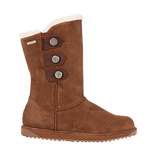 EMU Australia Captain Womens Liner Skin Boot Waterproof Fashion in Oak,7 B(M) (Captains Boot)