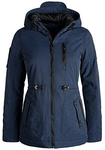 Blend SHE Colette Damen Übergangsjacke Parka Mantel warme Jacke gefüttert mit Kapuze