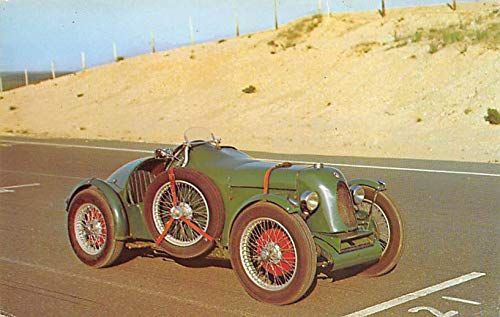 1931 MG Montlhery C type Midget Racer, First 750cc car to do over 100 Mph Automobile Racing Postcard ()
