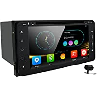 Car Stereo 2 Din In Dash Head Unit GPS Navigation MAP AM FM Radio DVD CD Player Bluetooth USB SD 3G DVR CAM-IN for TOYOTA RAV4 COROLLA CAMRY 4 RUNNER
