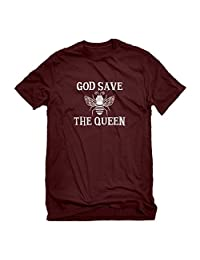 Indica Plateau God Save The Queen Mens T-Shirt
