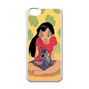 Lilo & Stitch iPhone 5c Cell Phone Case White persent xxy002_6854870