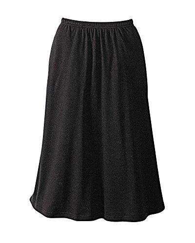 UltraSofts Skirt, Black, Petite ()