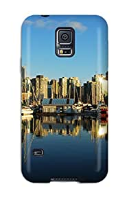 WELkeOJ8292orQEP ZippyDoritEduard Vancouver City Durable Galaxy S5 Tpu Flexible Soft Case