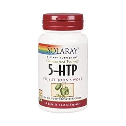 5-Htp St. JohnS Wort (Hipérico) 30 cápsulas de Solaray: Amazon.es ...
