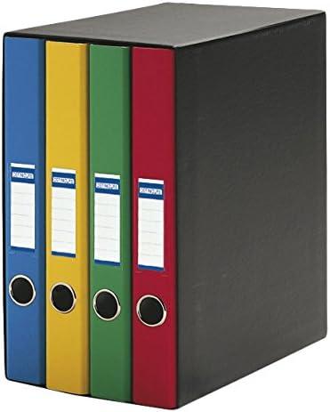Definiclas 950070 - Pack de 4 archivadores, multicolor: Amazon.es ...