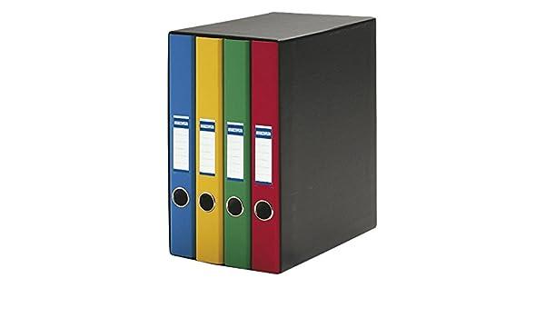 Definiclas 950070 - Pack de 4 archivadores, multicolor: Amazon.es: Oficina y papelería