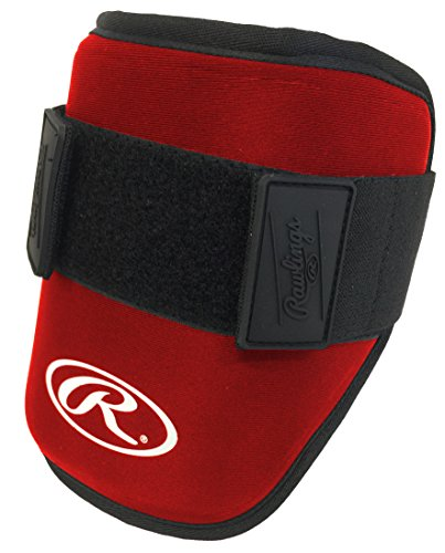 Rawlings Youth Elbow Guard, Red – DiZiSports Store