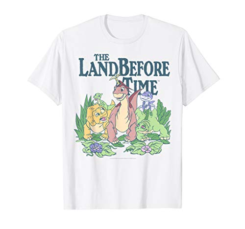 Land Before Time Pastel Dinosaur Friends T-Shirt