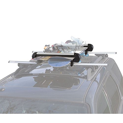 Rage Powersports SKI-4 Ski and Snowboard Roof Carrier