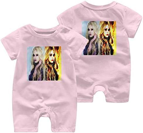 最新の人気の赤ちゃん統合半袖 0-2歳の赤ちゃん半袖 Avril 綿100%の赤ちゃんのジャンプスーツの男性の赤ちゃんの女性の赤ちゃん、赤ちゃんの半袖
