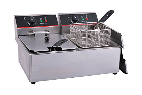 Hakka Commercial Stainless Steel Deep Fryers Electric Pro...