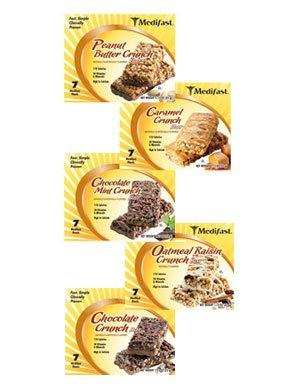 Medifast Fruit & Nut Crunch Bars 1 Box (7 Bars Each) from Medifast