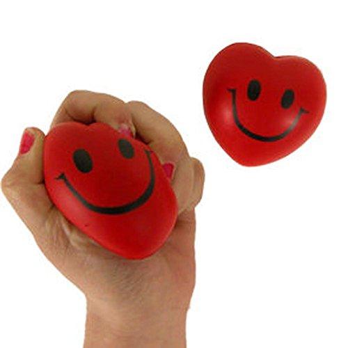 Smile Face Heart Relax Balls (dozen)
