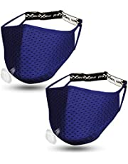Sports Face Mask Athletic Workout Breathable Gym Exercise Running Men Women Working Out Adjustable Strap Reusable Washable