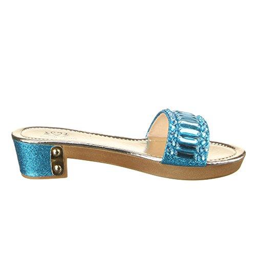 Ital-Design - zapatilla baja Mujer Azul - azul