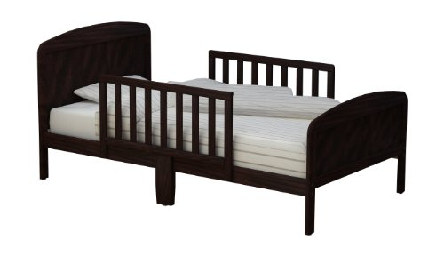 RUSSELL CHILDREN Products Harrisburg Wood Toddler Bed, Espresso