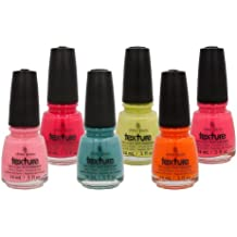 New China Glaze TEXTURE 6 pieces Collection