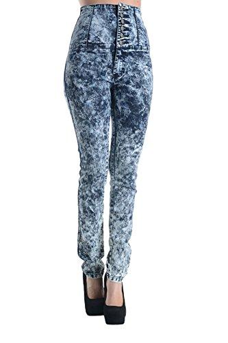 Button Up Cotton Jeans - 8
