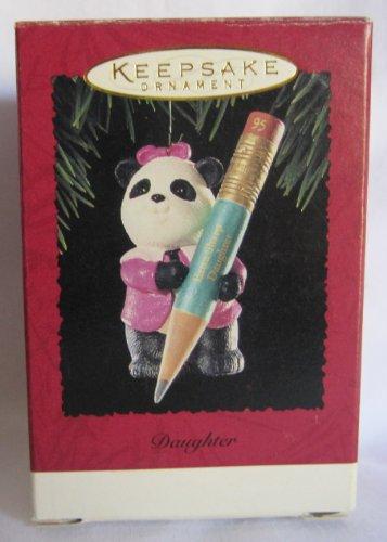 (Hallmark Keepsake Panda Bear Daughter Ornament 1995)