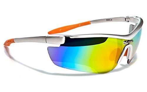 X-Loop Lunettes de Soleil - Sport - Cyclisme - Ski - Running - Moto - Squash / Mod. 035P Noir P65za0KW