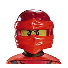 Disguise Costumes Kai Ninjago Lego Mask, One Size Child, One Color