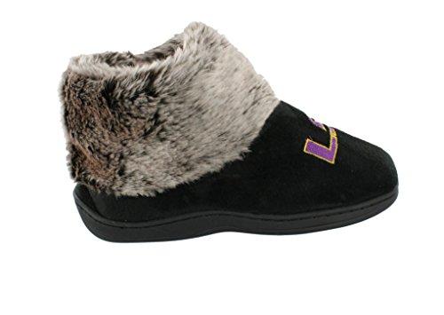 Comfy Voeten Happy Feet Heren En Dames Ncaa College Faux Schapenvacht Harige Pantoffels Lsu Tijgers S