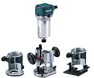 Makita RT0700CX2J - Fresadora multicortadora Makita
