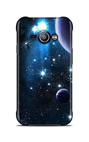 Shengshou Mobile Back Cover for Samsung Galaxy J1 Ace 2015 Design Star Planet ABC151M31884