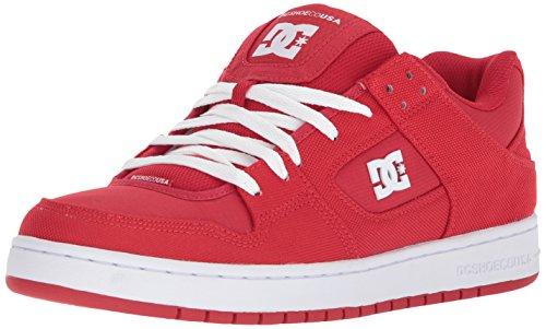Dc Mens Manteca Tx Se Skate Schoen Rood / Wit