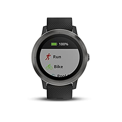 Garmin vívoactive 3 GPS Smartwatch (Certified Refurbished)