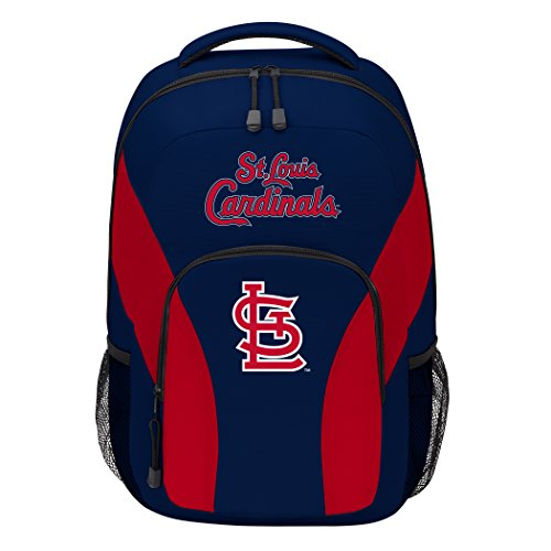 (The Northwest Company MLB St Louis Cardinals DraftDay Backpack, 18-Inch, Blue)