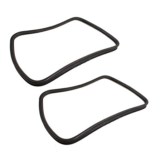 (LAND ROVER DISCOVERY 1 (5DR) REAR QUARTER WINDOW WEATHERSTRIP SEAL RH & LH SET OF 2 PART: AWR5388)